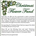 Christmas Flower Fund