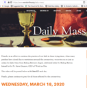 Mass online daily from Bishop Barron's Chapel