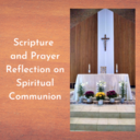 Spiritual Communion Prayer