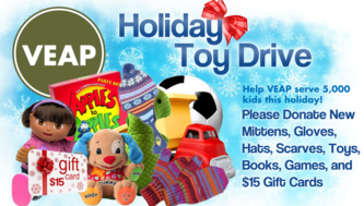 VEAP Holiday Toy Drive Collection