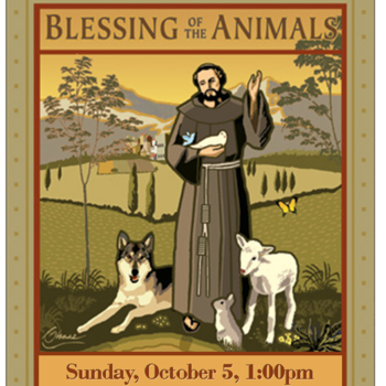 Blessing of Animals - Front Doors
