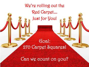 We're rolling out the red carpet – just for you!