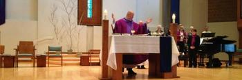 Mass, Children's Liturgy of the Word & Girl Scout Blessing - Church