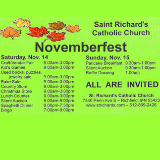 NovemberFest is Almost Here!