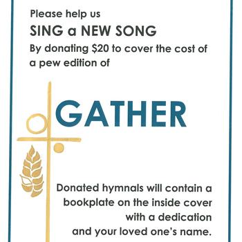 Gather Hymnal Fundraising