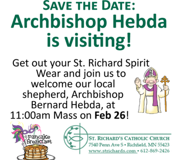 02/26 Mass with Archbishop Hebda