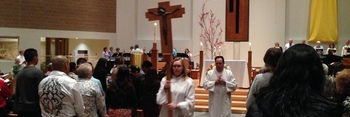 Mass with Fr. Jeffrey Steenson & Deacon Bob Schnell
