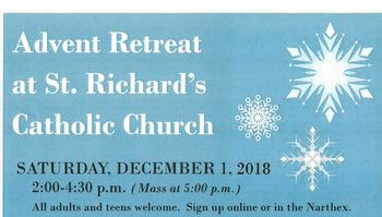 Advent Retreat: The Journey to the Manger - Social Hall