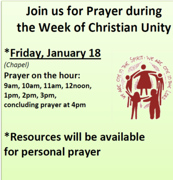 Day of Prayer for Christian Unity