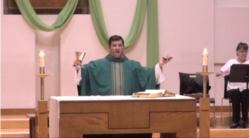 Online Mass with Fr. Mario