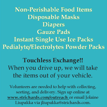 Supply Drive for Minneapolis