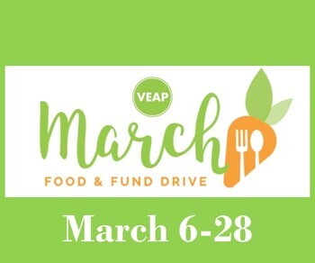VEAP March Food & Fund Drive