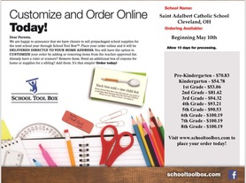 Click Here to Order School Supplies Online