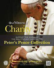 Second Collection: Peter's Pence