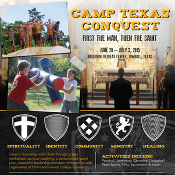 Conquest:Camp Texas in Tomball (Jr High & HS Boys)