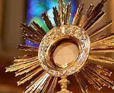 Celebration: anniversary of Adoration Chapel