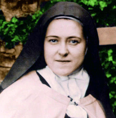 St Therese as a Saint