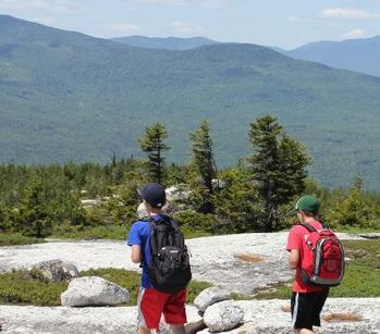 Hiking & Mass on Rumford Whitecap