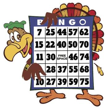 KC Turkey Bingo