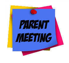 Parents Meeting 8th graders