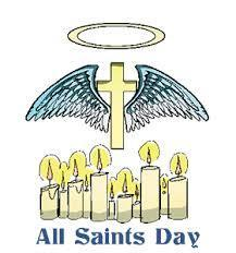 Parish Office Closed - All Saints Day