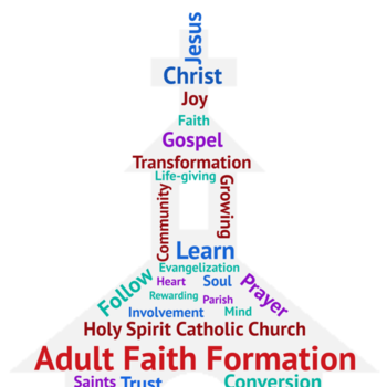 Adult Faith Formation - Registration