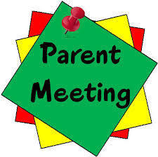 2nd Grade Parents Meeting