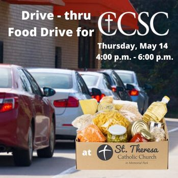 Drive-Thru Food Drive for CCSC