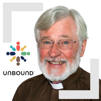 Fr. Gallagher from Unbound Visiting St. Theresa
