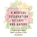 A Musical Celebration of Love and Nature
