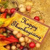 Parish Office Closed - Thanksgiving Holiday