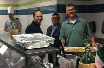 Annual Pasta Dinner sponsored by the St. Rita Dads Club