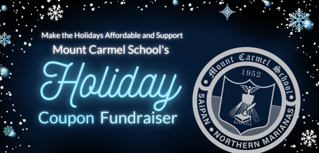 Support Mount Carmel School's Holiday Coupon Fundraiser