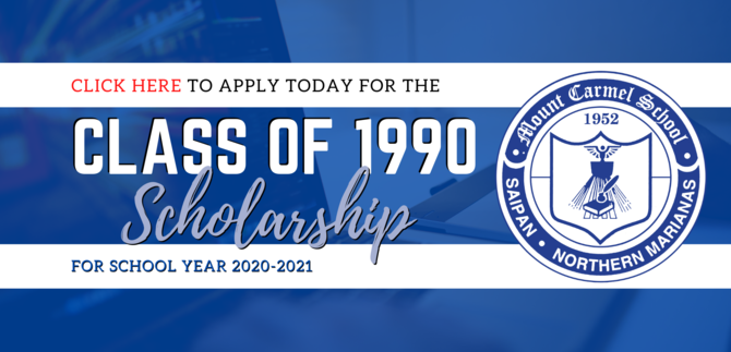 Class of 1990 scholarship application link