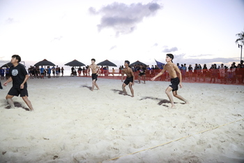 MCS Boys Claim Beach Volleyball Title (Marianas Variety)