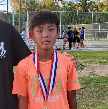 MCS Student Wins SIS Tennis Tournament