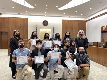 MCS Students Awarded During  The 2021 Ninth Circuit Civics Contest