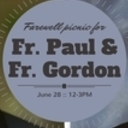 Thank You Fr. Paul Erickson and Fr. Gordon Reigle
