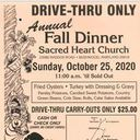 Fall Dinner Drive-Thru Carry Out Only