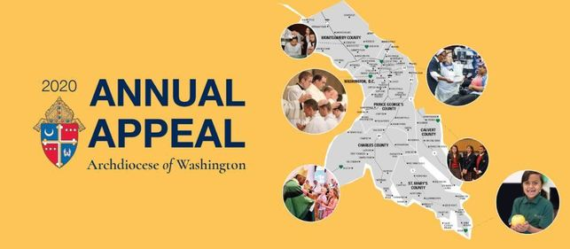 2020 Annual Appeal - Archdiocese of Washington