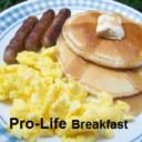 Pro-Life Breakfast sponsored by the Knights of Columbus
