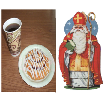 Coffee & Rolls & Saint Nick Visits