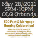 500 Festival & Mortgage Burning