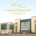 Blessing of the new St. Joseph's Parish Centre