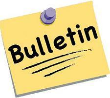 New Bulletin Submission Protocol