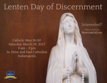 Lenten Day of Discernment