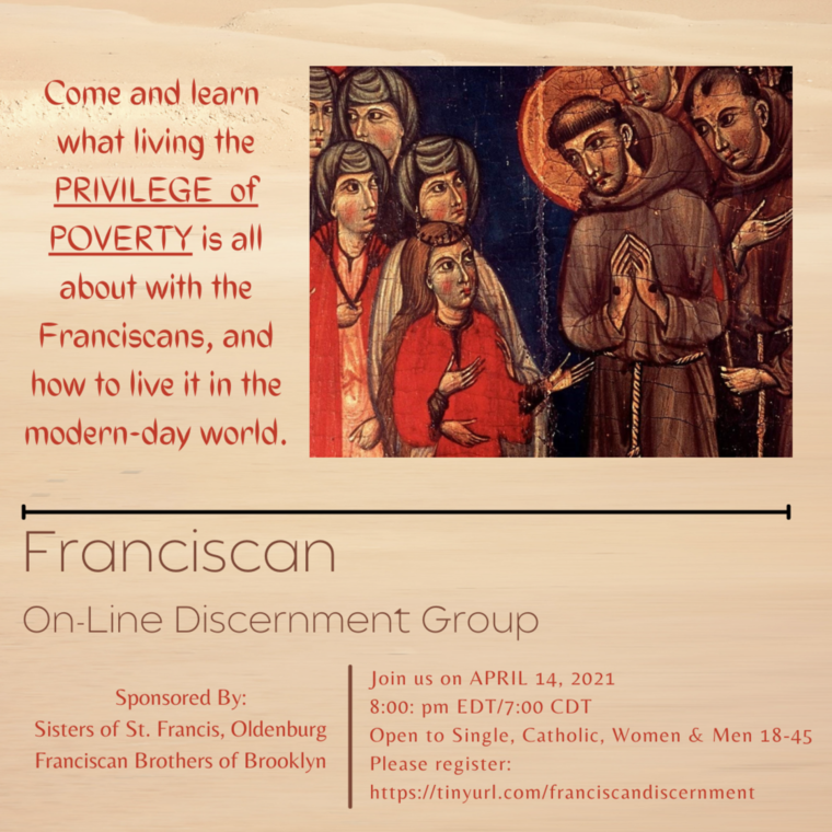FRANCISCAN ON-LINE DISCERNMENT GROUP