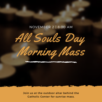 All Souls Day Outdoor Mass