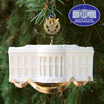 2014 WHITE HOUSE ORNAMENTS FOR SALE!