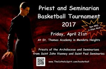 Priest vs Seminarians Basketball Game